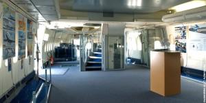 Intérieur du Boeing 747