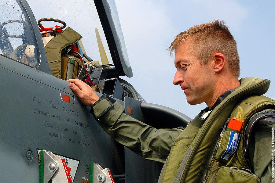 Agrandir Super Etendard et son pilote