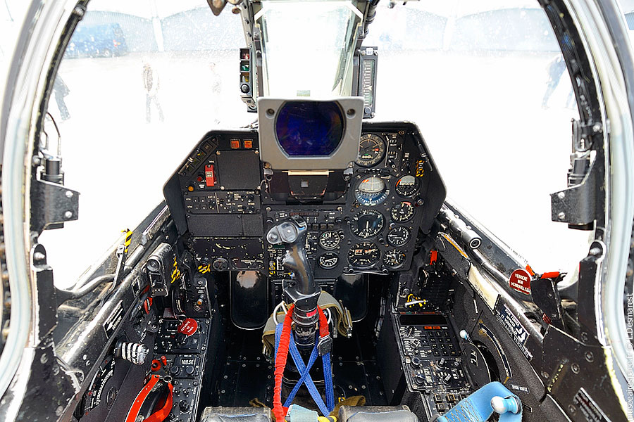 Cockpit du Super Etendard