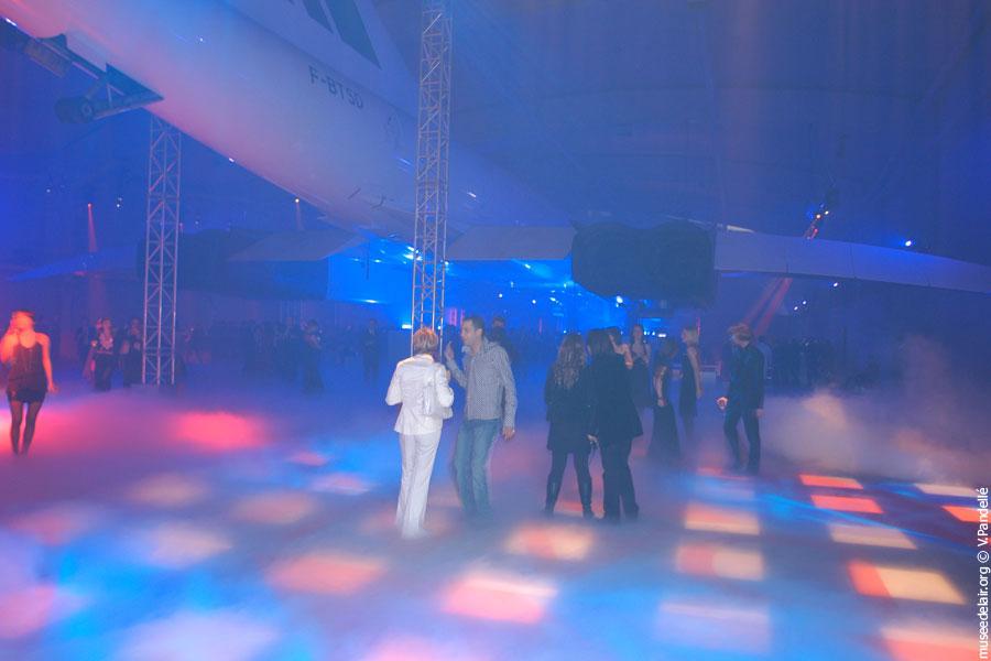 Soirée dans le Hall Concorde