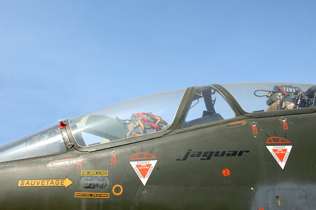 Cockpit du Jaguar