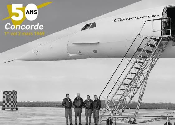 50 ans Concorde, un weekend anniversaire