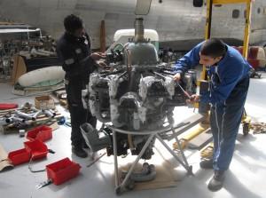 Restauration moteur - les ailes de la ville