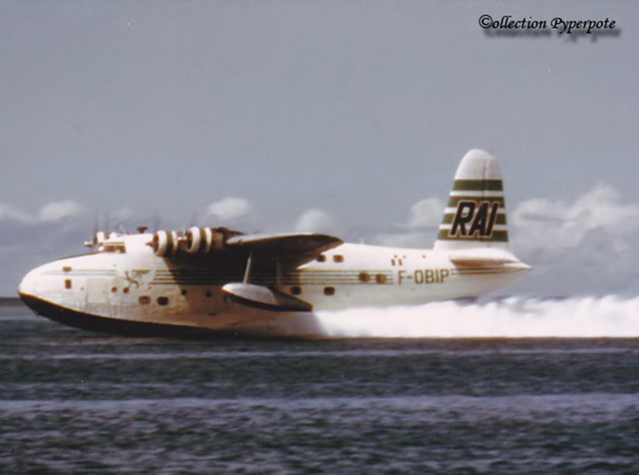 Décollage du Bermuda - La Goélette Tahitienne