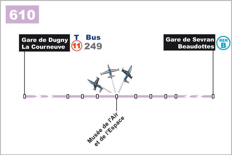 Venir en Bus 610
