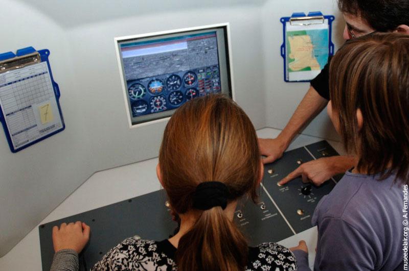 Classe pilote simulateurs