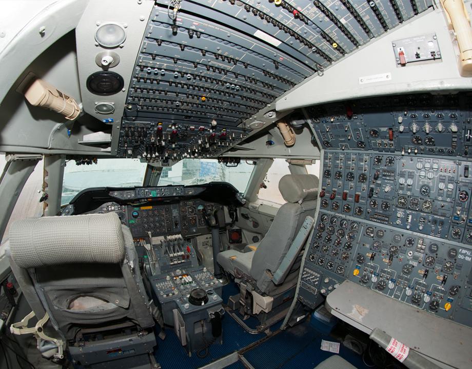 Agrandir Cockpit du Boeing 747