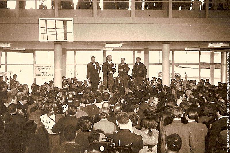 Conférence de presse de l'équipage du F-WTSS