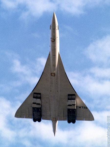F-WTSS au décollage vu du dessous