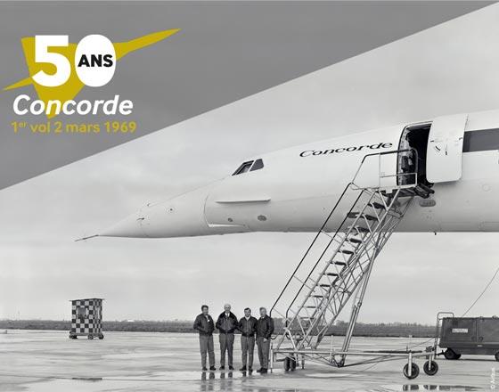 50 ans Concorde