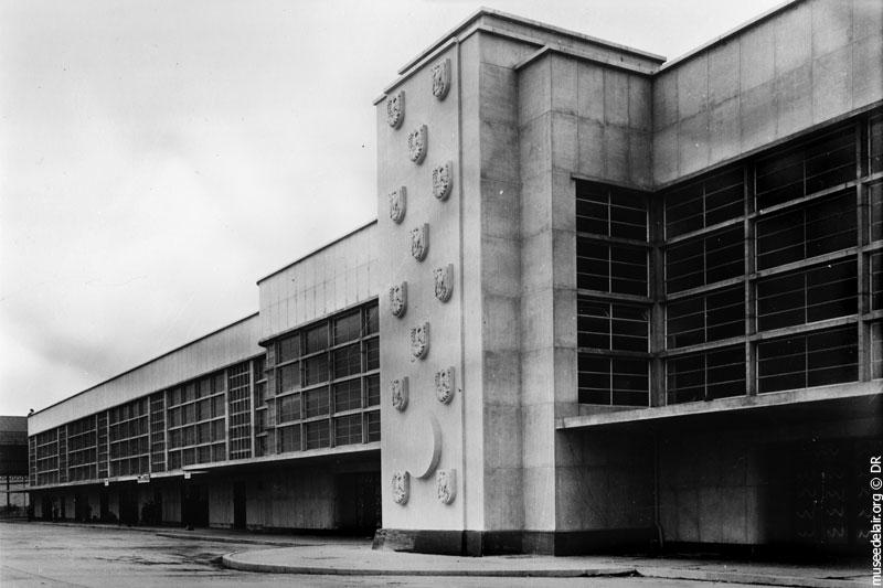 façade du musée de l'Air et de l'Espace