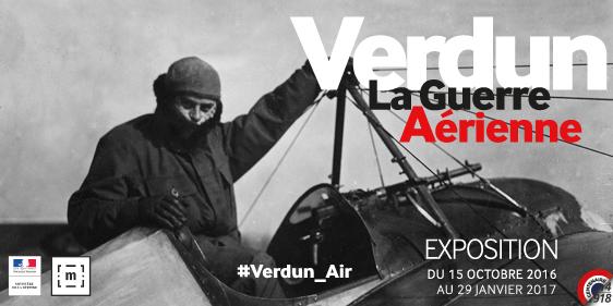 Exposition temporaire : Verdun, la guerre aérienne