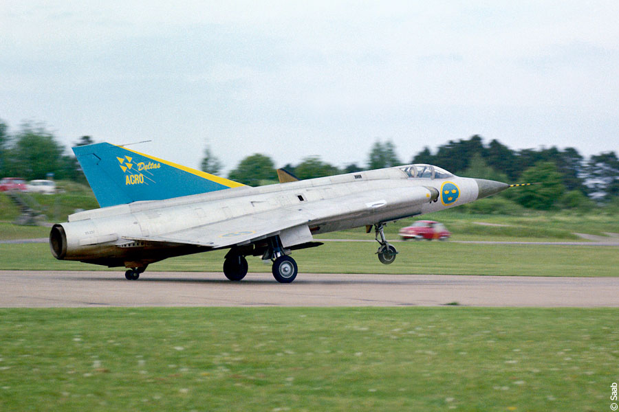 SAAB J 35B Draken version 35B