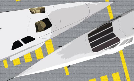 40 ans du premier vol supersonique commercial Paris - New York
