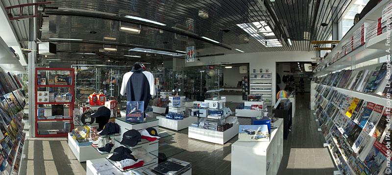 Nouvelle boutique du Musée de l'Air et de l'Espace