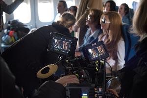 Les tournages au musée  de l'Air et de l'Espace