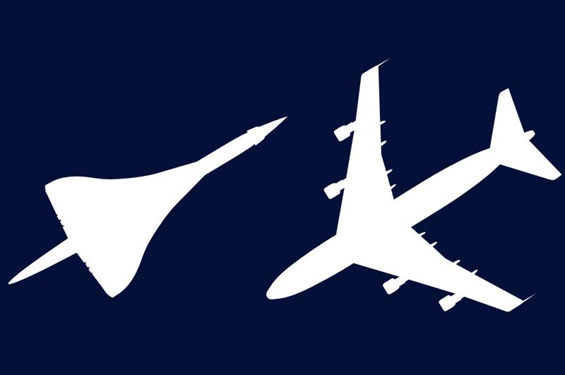 Visite guidée Boeing 747 et Concorde