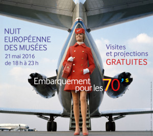 Affiche pour la nuit européenne des musées