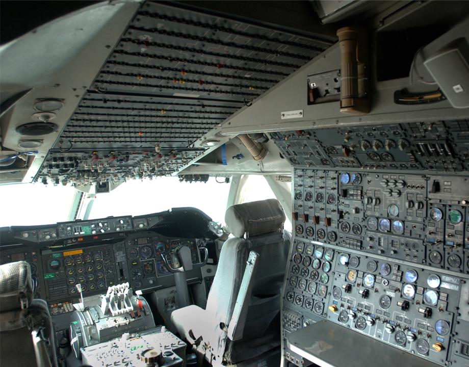 Agrandir Cockpit Boeing 747 F-BPVJ