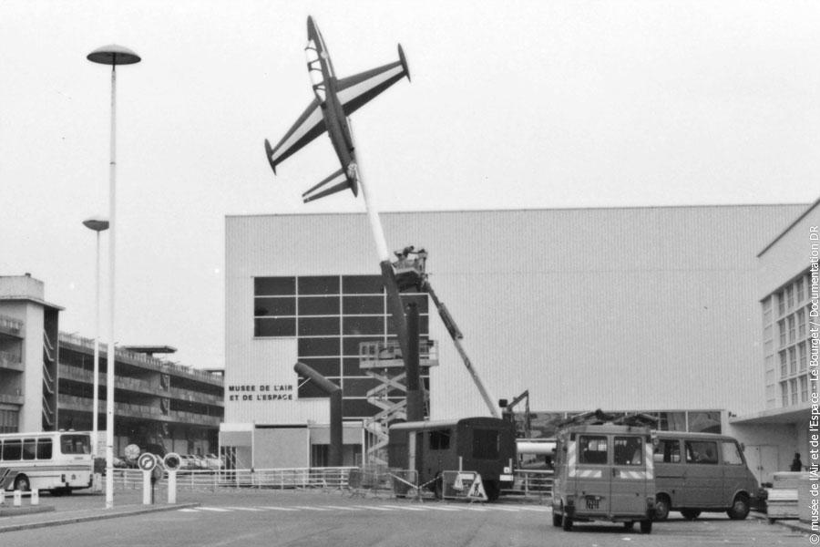 Montage des 3 Fouga en 1985