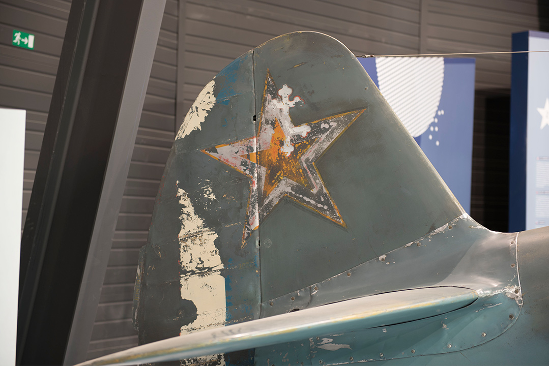 Agrandir Dérive du Yak 3 dans le Hall Normandie - Niemen
