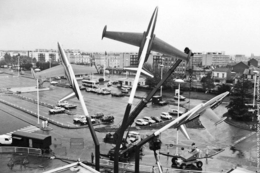 Agrandir Montage des 3 Fouga en 1985