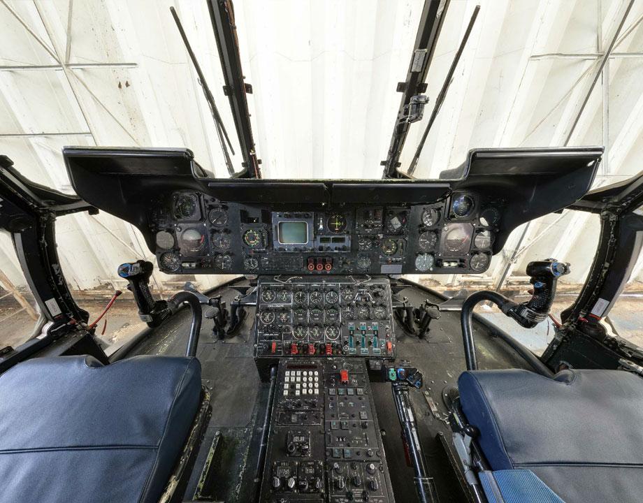 Cockpit Aérospatiale SA 321 G Super Frelon 144