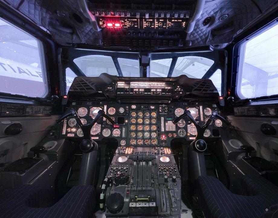 Cockpit Concorde Air France N°213 F-BTSD sous tension