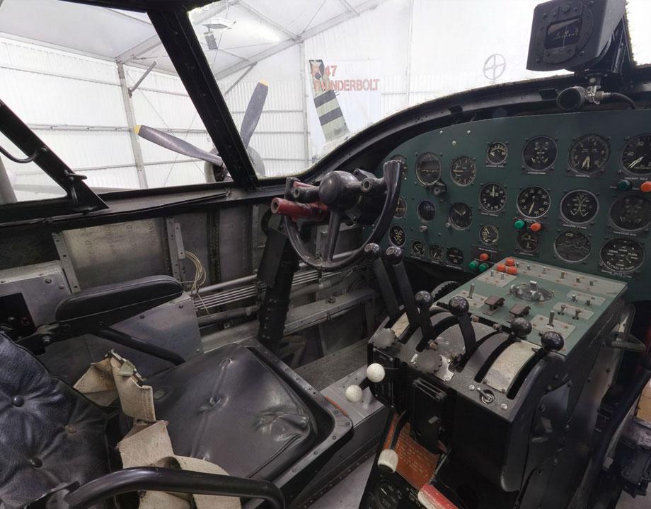 Cockpit Martin B-26G Marauder