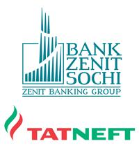 Logo Zenit Bank et Tatneft