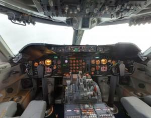 Cockpit Boeing 747 F-BPVJ