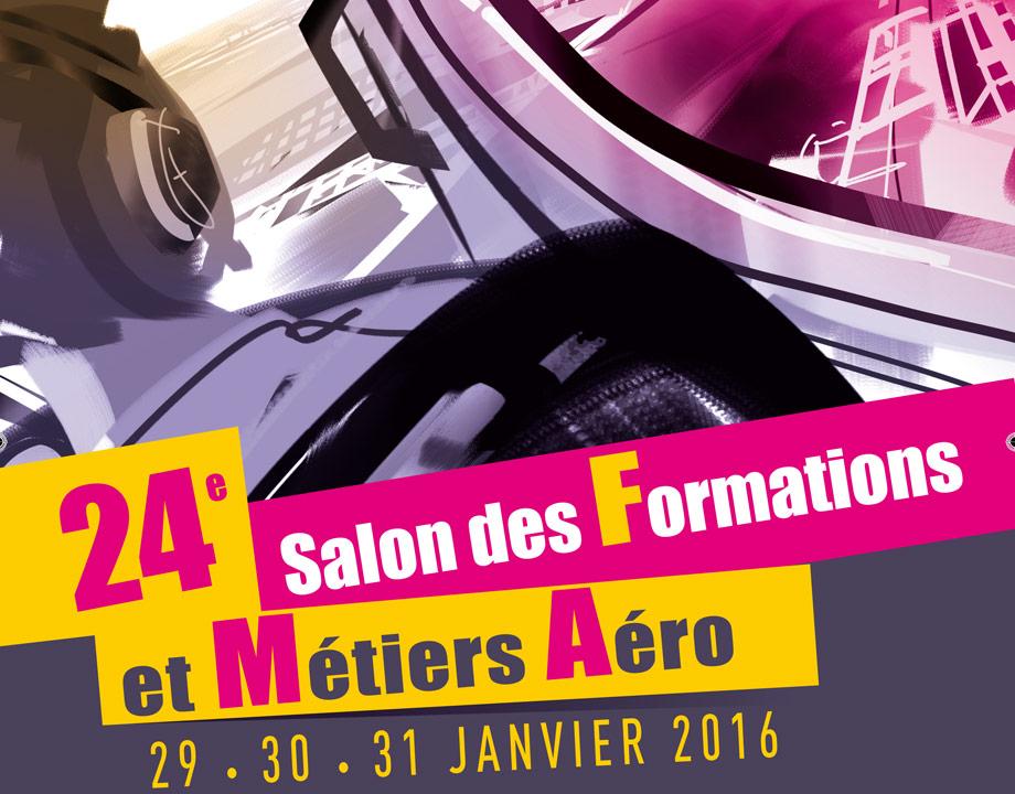 Salon des formations et m tiers a ronautiques 2016 mus e for Salon de formation