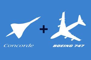 Visite guidée Concorde - Boeing 747
