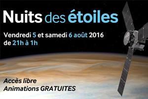 Communiqué de presse - Nuits des étoiles 2016