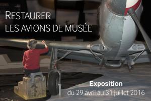 Expostion restaures les avions de musée