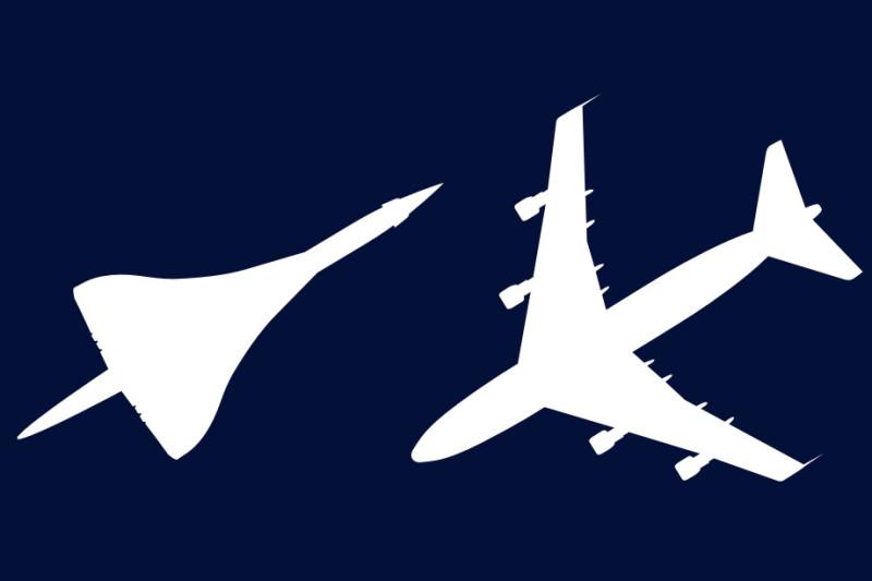 Visites guidées Concorde / Boeing 747 et 100% Concorde