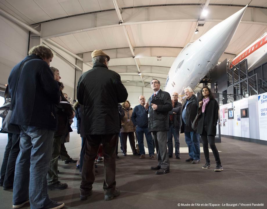 Visite Concorde / Boeing 747
