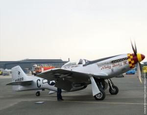 Mise en route du P-51 D - Nooky Booky