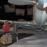 Expo temporaire : Restaurer les avions du musée