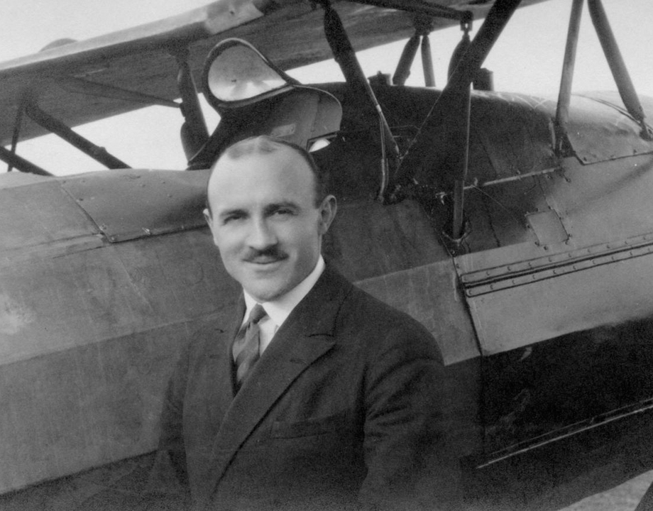 Alfred Fronval, pilote