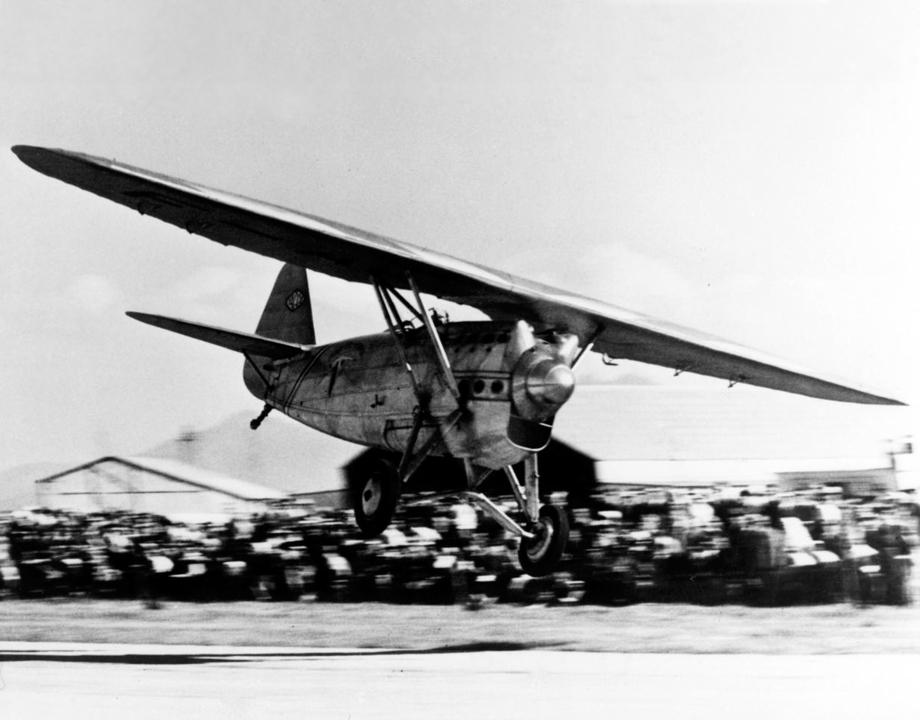 Le Dewoitine D.530 de Marcel Doret - © Musée de l'Air et de l'Espace MA 24956