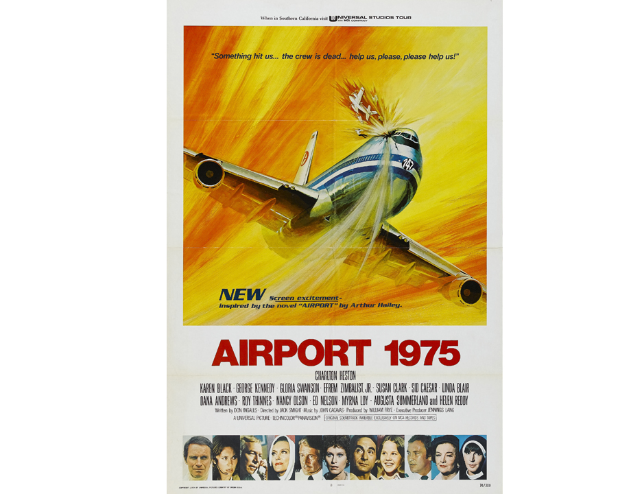 Affiche du film Airport 1975