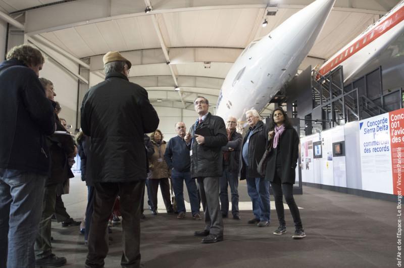 Visite guidée - Concorde et Boeing 747