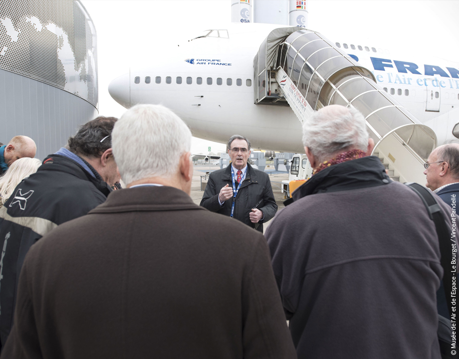 Agrandir Visite guidée - Concorde et Boeing 747