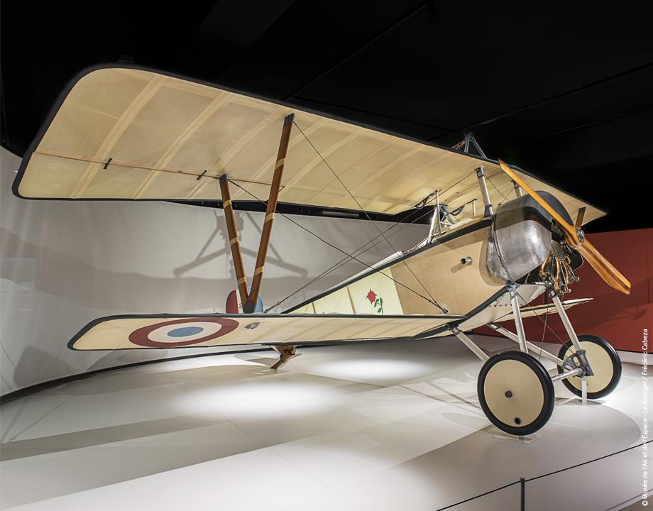 Nieuport XI - Exposition Verdun, la guerre aérienne