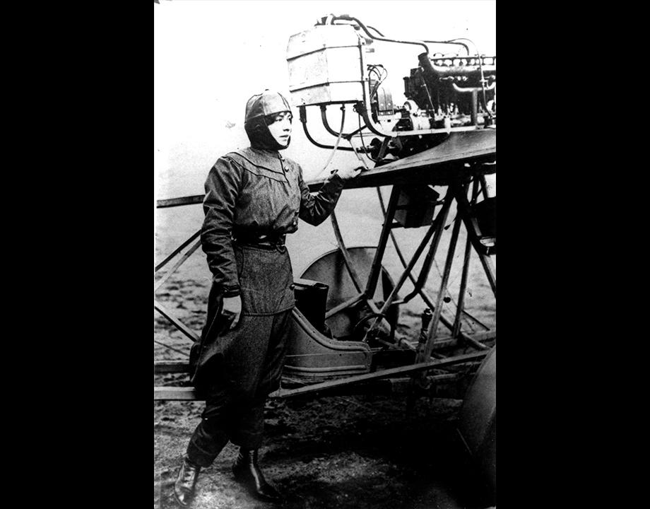Hélène Dutrieux, s.d. Col. Musée de l'Air et de l'Espace – Le Bourget