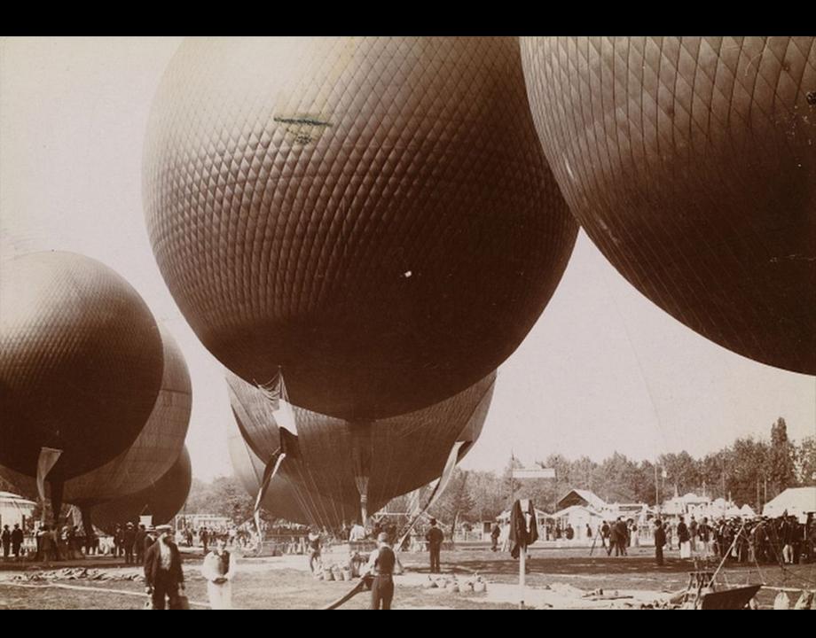 Concours des ballons de Vincennes, 1900, Col. Musée de l'Air et de l'Espace – Le Bourget