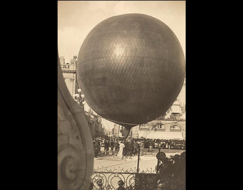 Ballon libre Le Brennus, 1895, Col. Musée de l'Air et de l'Espace – Le Bourget