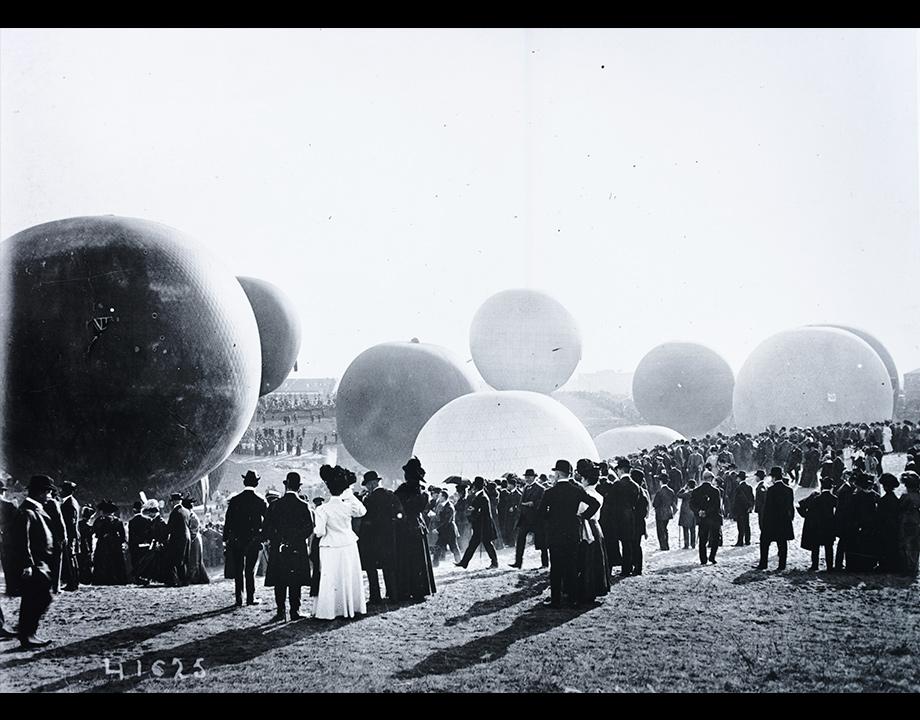 Coupe Gordon Bennett en Allemagne, 1908, Col. Musée de l'Air et de l'Espace – le Bourget