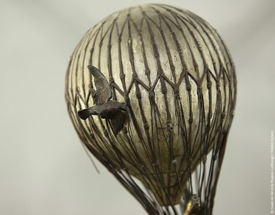 Ballon Bartholdi avant restauration